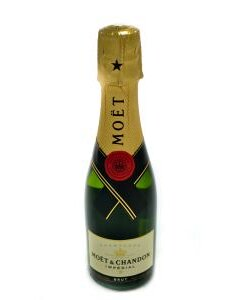 Moet & Chandon Brut Imperial Champagne 1/4 Snipe product photo