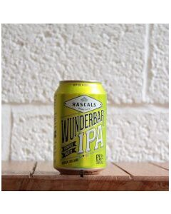 Rascals Wunderbar IPA  33cl can product photo