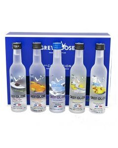 Grey Goose La Collection 5 Pack Miniatures product photo