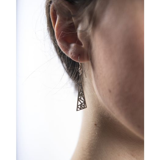 Miriam Wade | Sterling Silver Flare Earrings