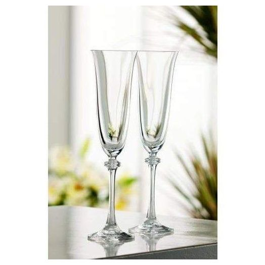 Galway Crystal | Liberty Flute Set of 2