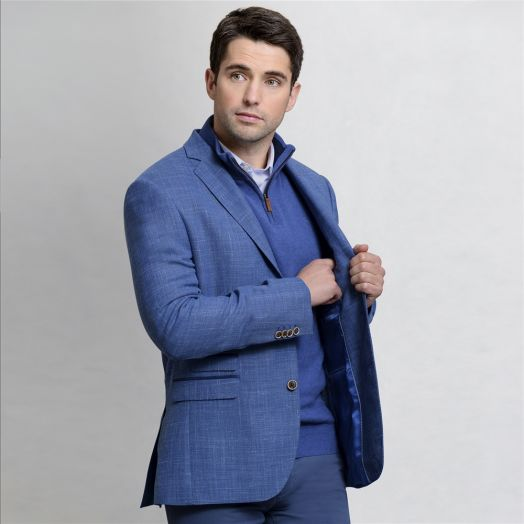 Magee | Classic Fit Blazer-Blue