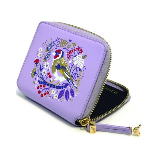 Tipperary Crystal | Birdy Wallet- Goldfinch
