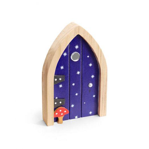 Irish Fairy Door - Navy Door