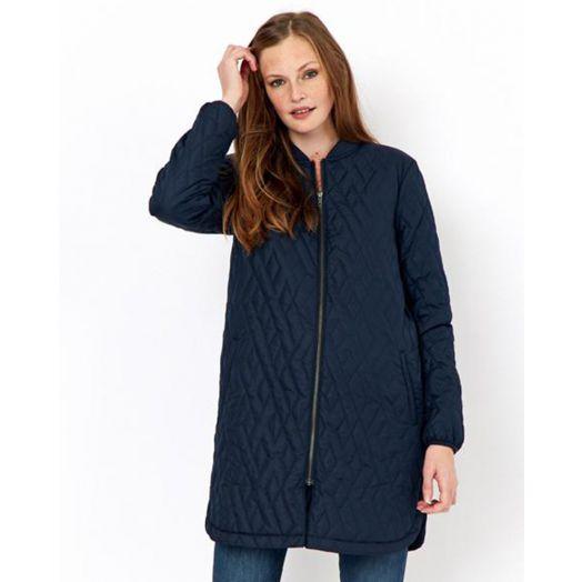 Soya Concept | Fenya Long Jacket - Navy
