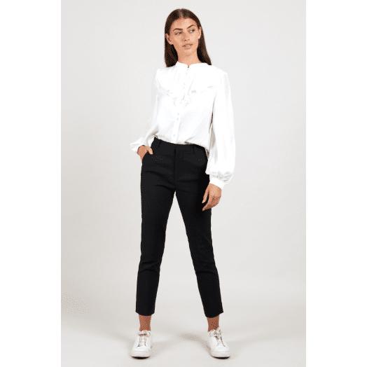 Louche | Joele Slim Fit Trouser -Black