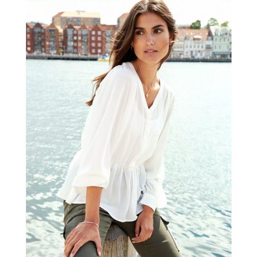 Soya Concept | Cemre Blouse- Off White