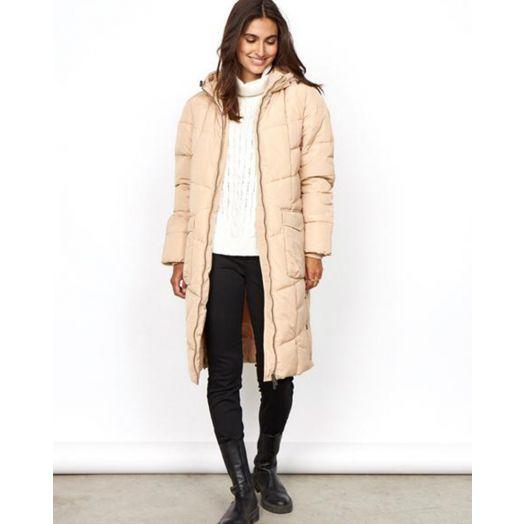 Soya Concept | Nina Puffy Coat- Cream