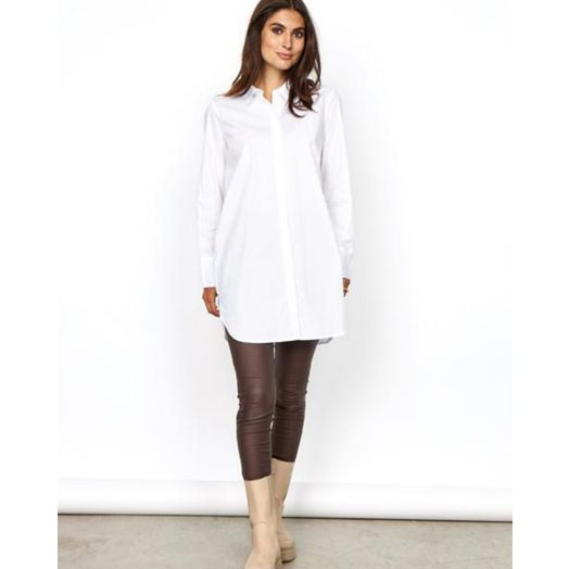 Soya Concept | Tokyo Long Shirt - White