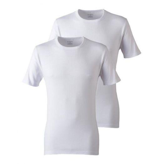 Jockey | Modern Classic Round Neck T-Shirt 2-Pack-White