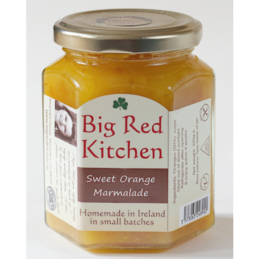 Big Red Kitchen | Sweet Orange Marmalade-330g