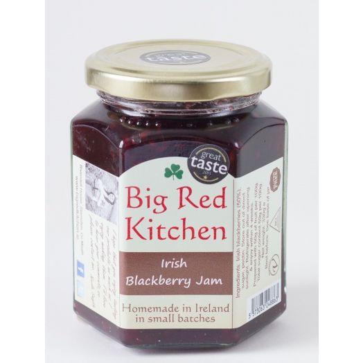 Big Red Kitchen | Blackcurrant Jam-130g