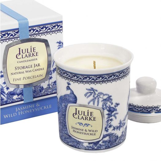 Julie Clarke | Jasmine and  Honeysuckle Storage Jar Candle- 150g