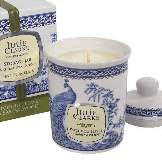 Julie Clarke | Patchouli Leaves and Sandalwood Storage Jar Candle 150g