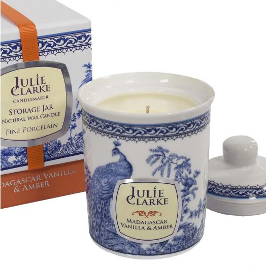 Julie Clarke | Madagascar Vanilla and Amber Storage Jar Candle 150g