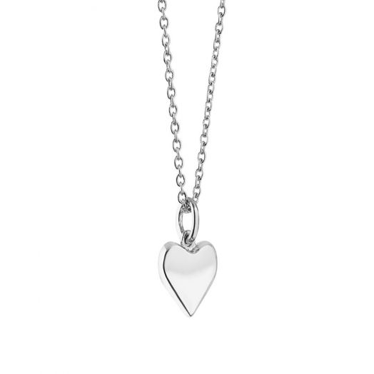 Newbridge Silverware   Silver Pendant with Heart