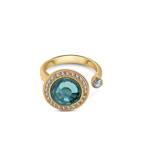 Newbridge Silverware | Ring with Montana Coloured Stone
