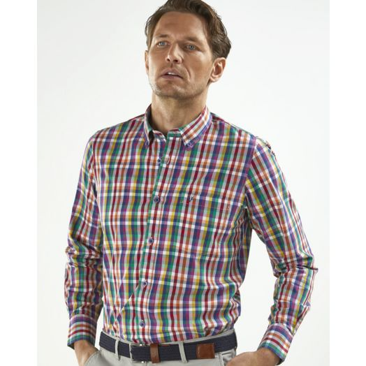 Vedoneire Soft Wash Cotton L/S Shirt Galuppi