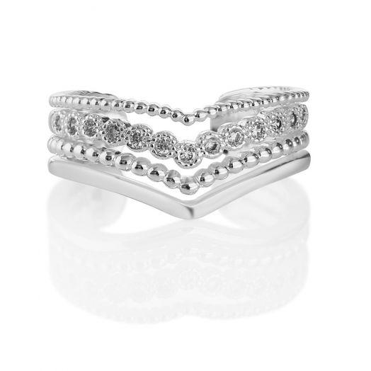 Newbridge Silverware | Silverplated Wishbone Ring