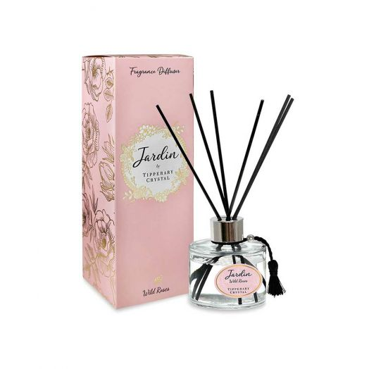 Tipperary Crystal   Jardin Collection Wild Roses Diffuser