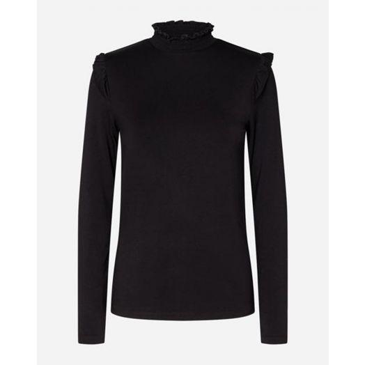 Soya Concept | Marcia Long Sleeve Top - Black