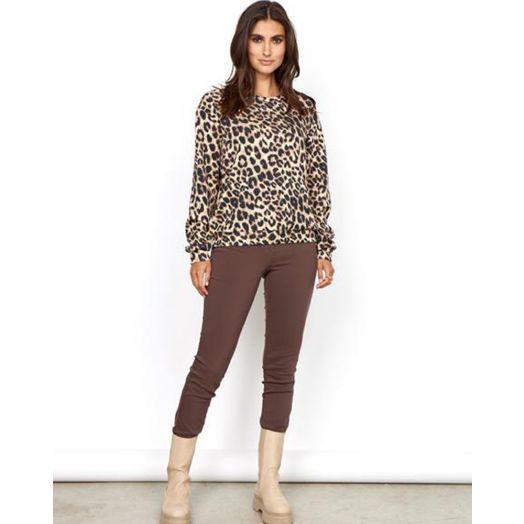 Soya Concept | Banu Sweatshirt - Leopard Print