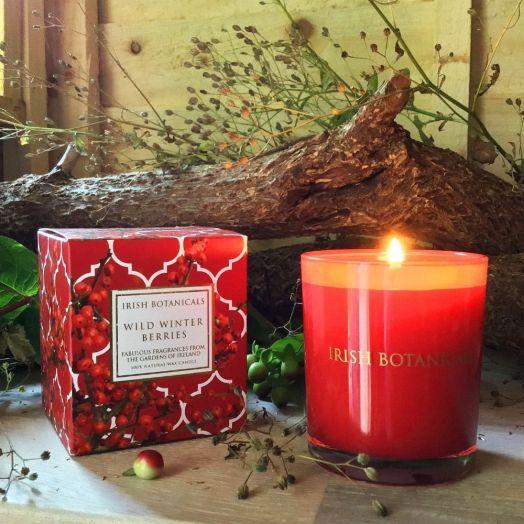 Irish Botanicals | Wild Winter Berries Candle
