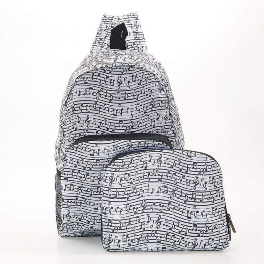 Eco Chic | Music Foldable Backpack