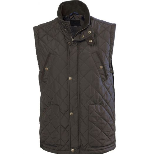 Vedoneire   Men's Quilted Jacket with Pocket-Green