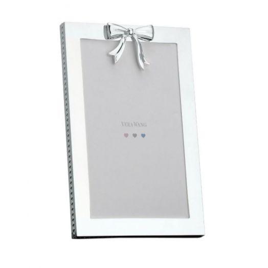 Vera Wang | Silver Bow Frame 4x6