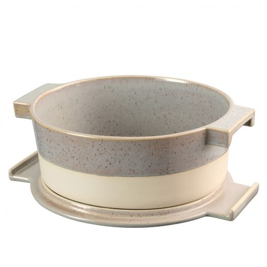 Belleek | Porto Oval Covered Baker with Lid