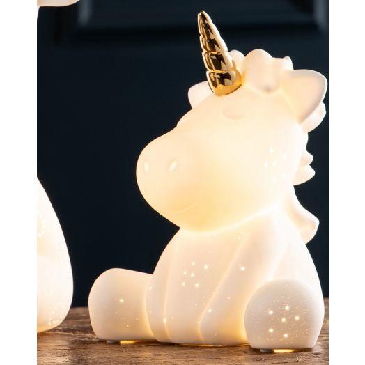 Belleek   Unicorn Luminaire