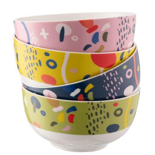 Belleek | Aynsley Verdant Cereal Bowls Set of 4