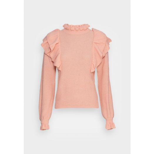 Part Two   KamilePW Knitted Pullover - Rose Cloud