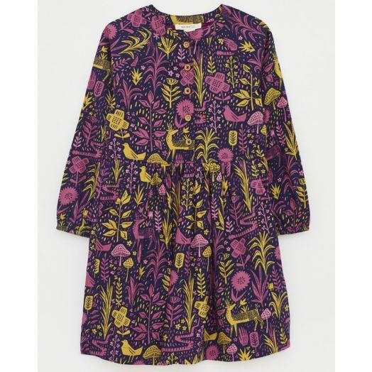 White Stuff | Woodland Gathering Shirt Dress- Purple Multi