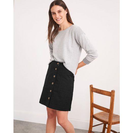 White Stuff | Canterbury Twill Skirt - Black