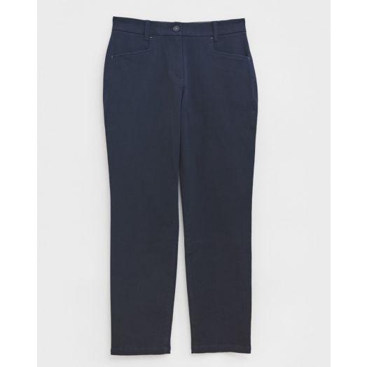 White Stuff | Sienna Stretch Trousers -Dark Navy