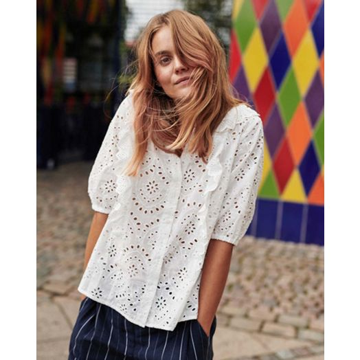 Numph | Nublessing Shirt-White