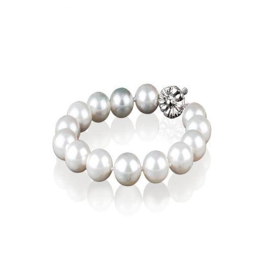 Newbridge Silverware   Grace Kelly Pearl Bracelet 12mm