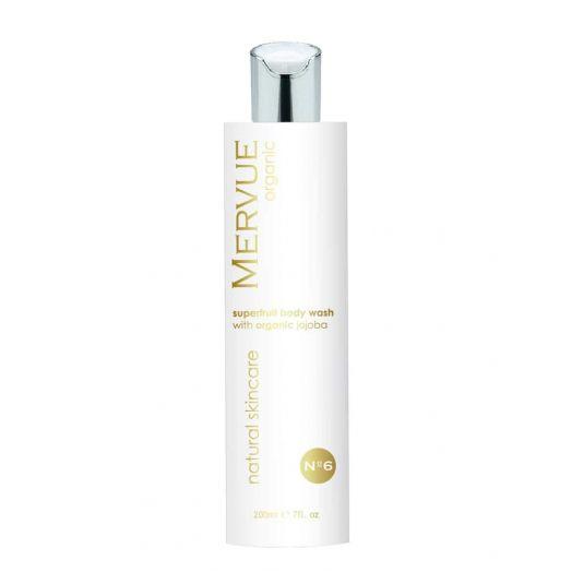 Mervue Organic Skincare | Superfruit Body Wash with Organic Jojoba