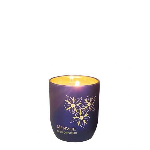 Mervue Organic Skincare | Rose Geranium Candle