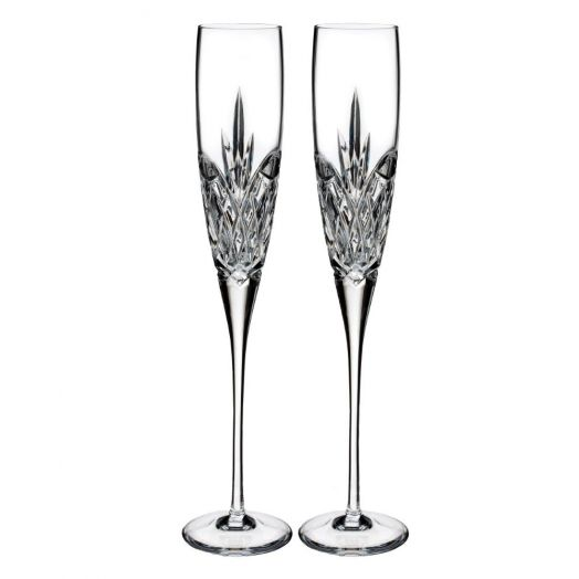Waterford Crystal   Forever Flute Pair