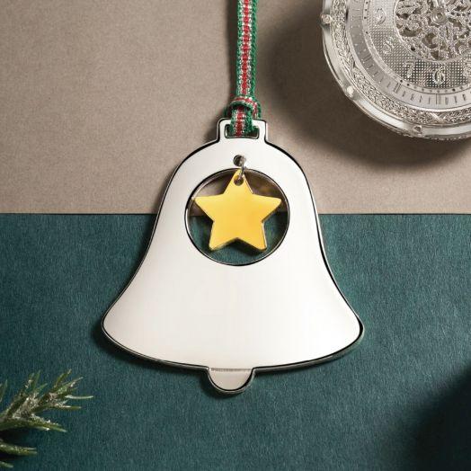 Newbridge Silverware | Bell With Star Decoration