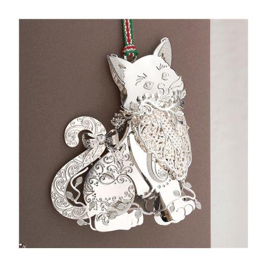 Newbridge Silverware | Cat Hanging Decoration
