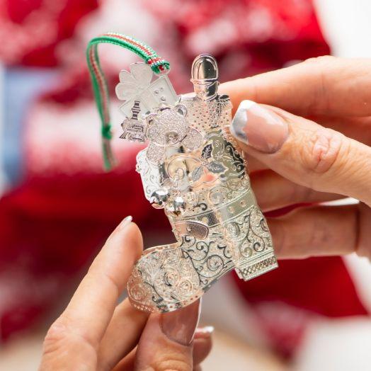 Newbridge Silverware | Christmas Boot Decoration