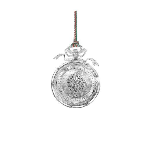 Newbridge Silverware | Christmas Clock Decoration