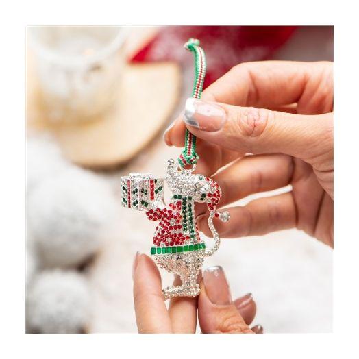 Newbridge Silverware | Christmas Mouse Decoration
