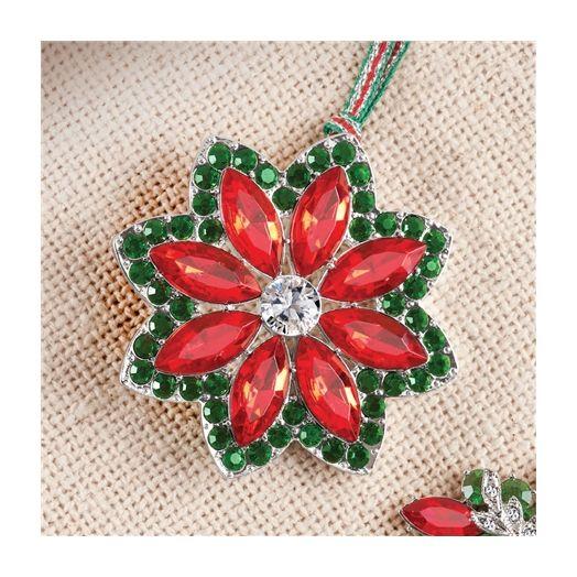 Newbridge Silverware | Poinsettia Decoration