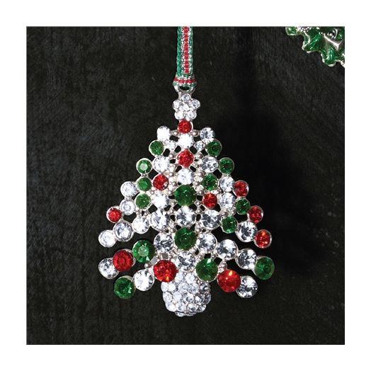 Newbridge Silverware | Red and Green Christmas Tree Decoration