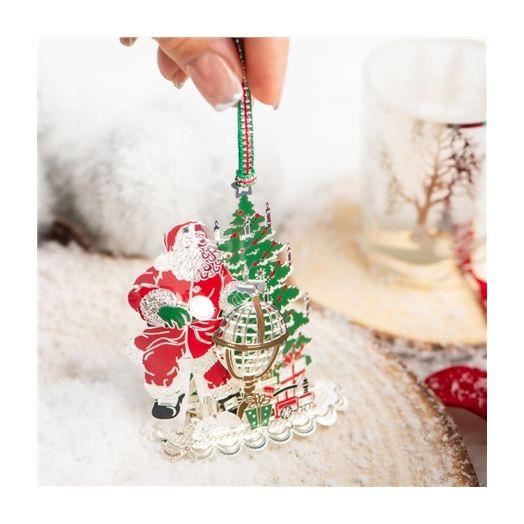 Newbridge Silverware | Santa and Globe Decoration